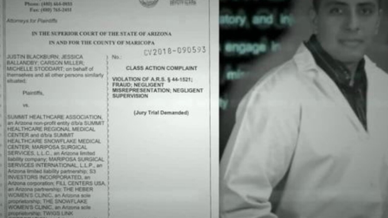Class action lawsuit filed against weight loss doctor, victims could