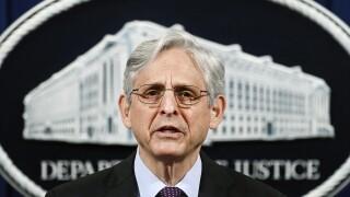 U.S. Attorney General Merrick Garland