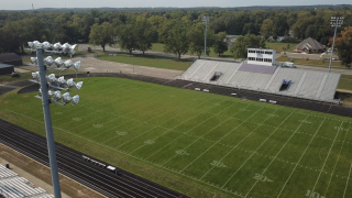 Three Rivers High School's Football Field