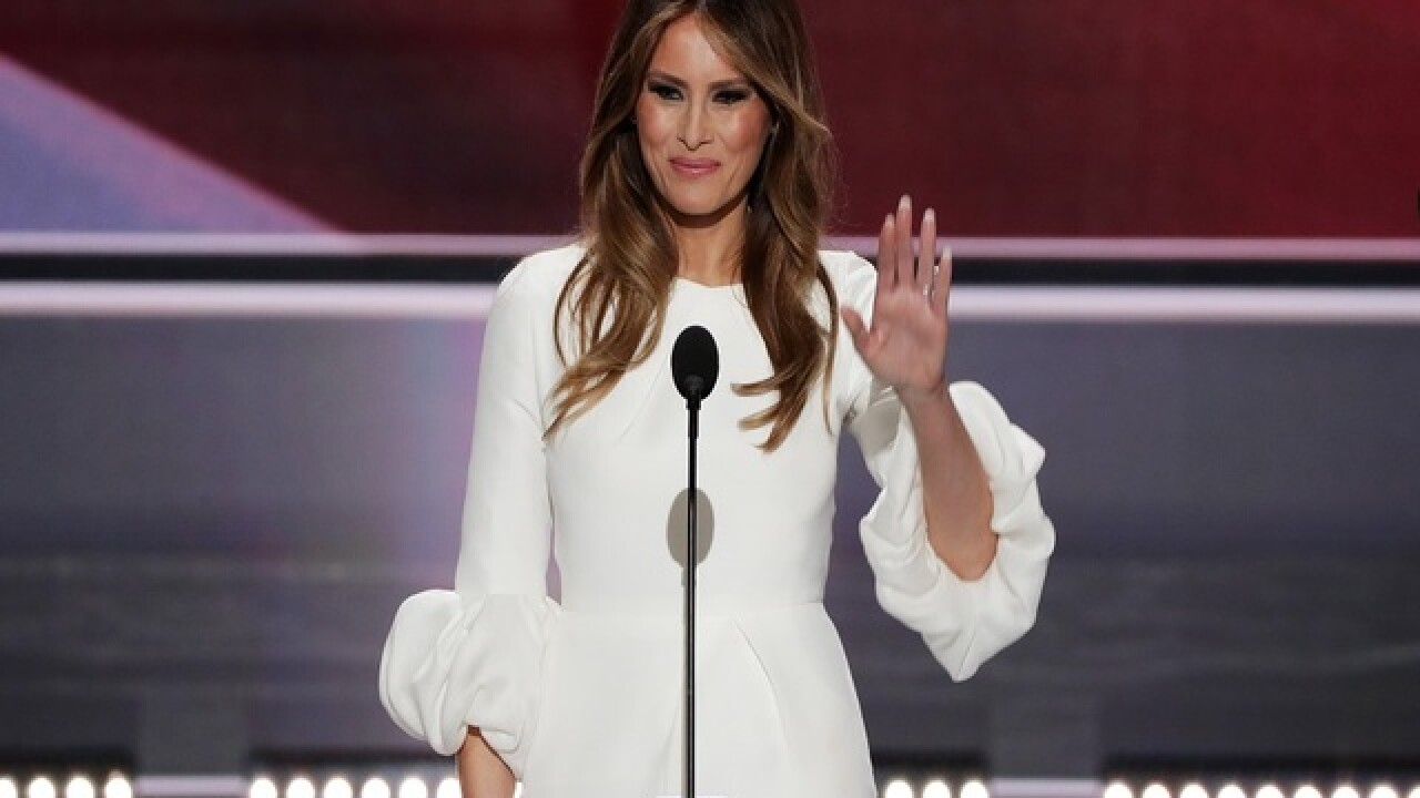 Did Melania Trump steal part of her convention speech from Michelle Obama?