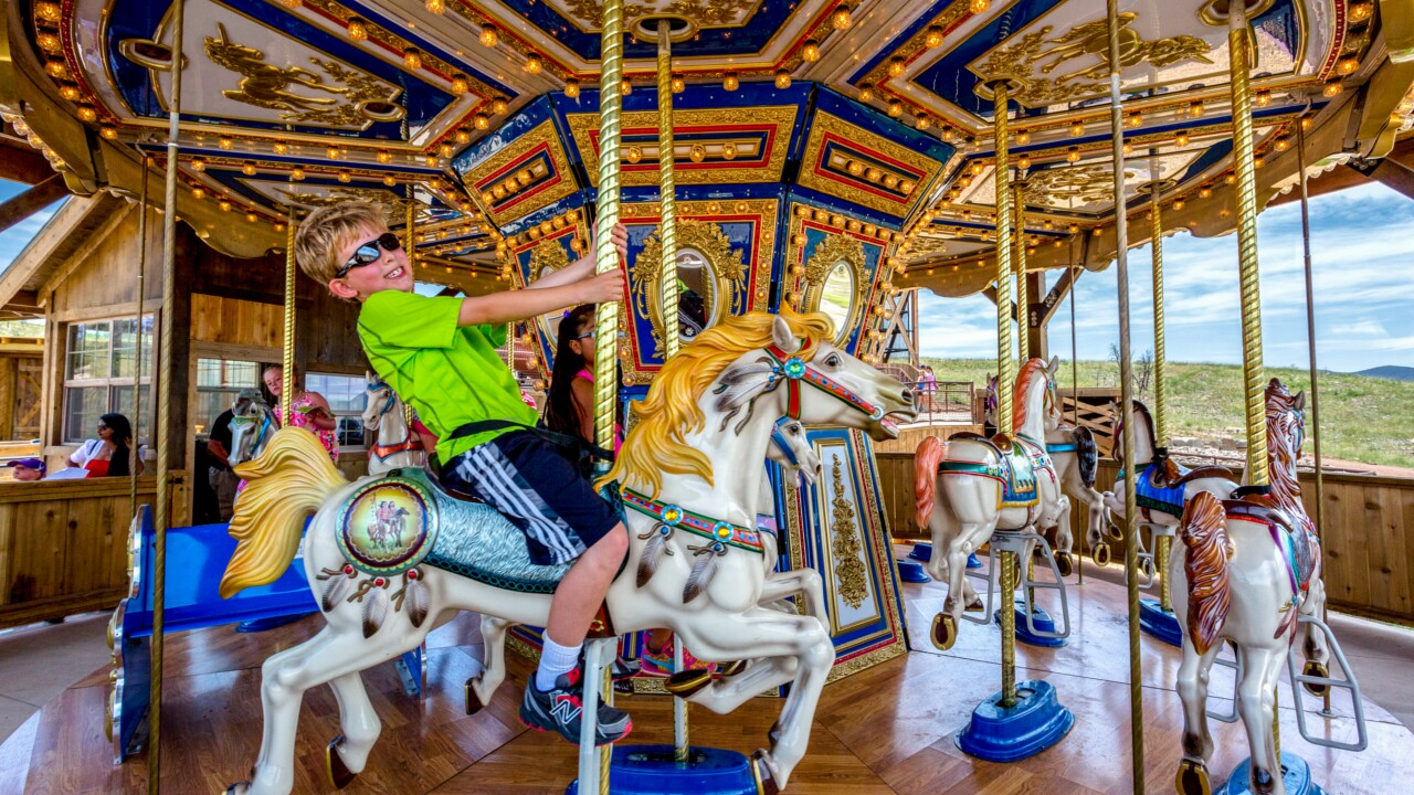 Royal Gorge Bridge Carousel
