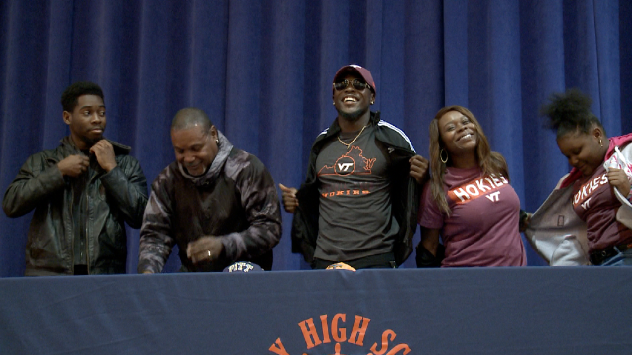 CJ's Day: Behind-the-scenes of commitment day for Maury's CJ Beasley