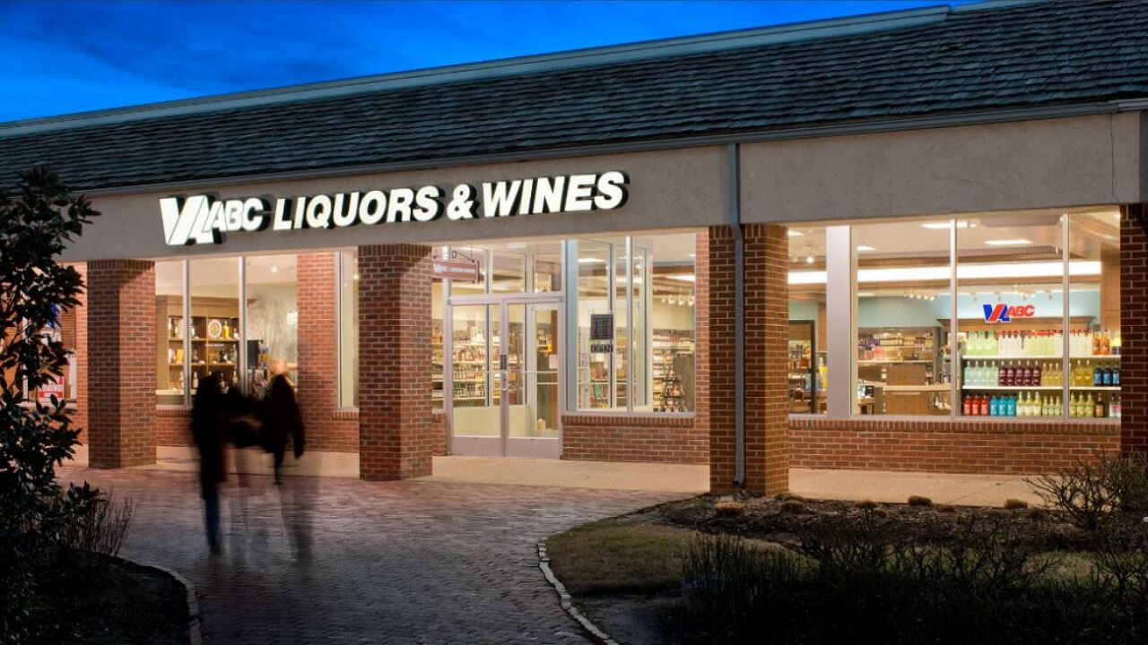 State reveals its list of Virginia's top-selling liquor brands