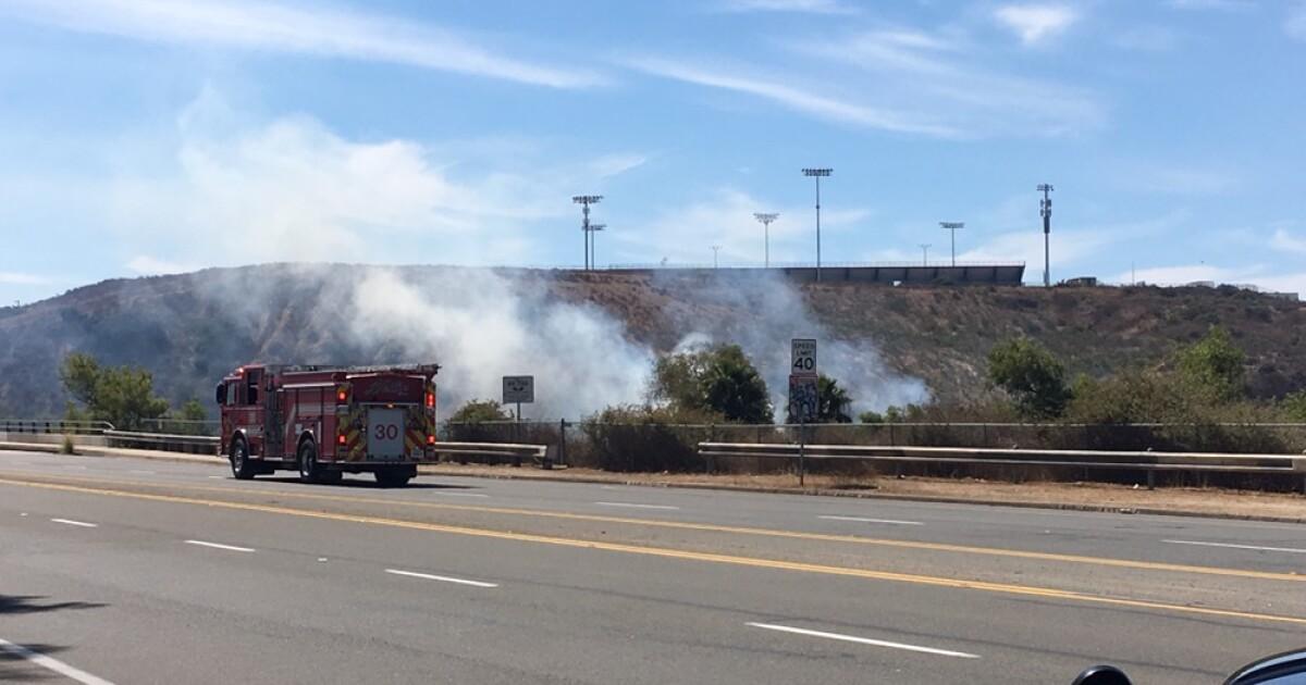 Crews battling multiple brush fires in Otay Mesa West