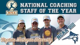 Virginia Wesleyan softball NFCA D3 staff of the year