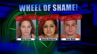Wheel Of Shame Arrests: April 10, 2019