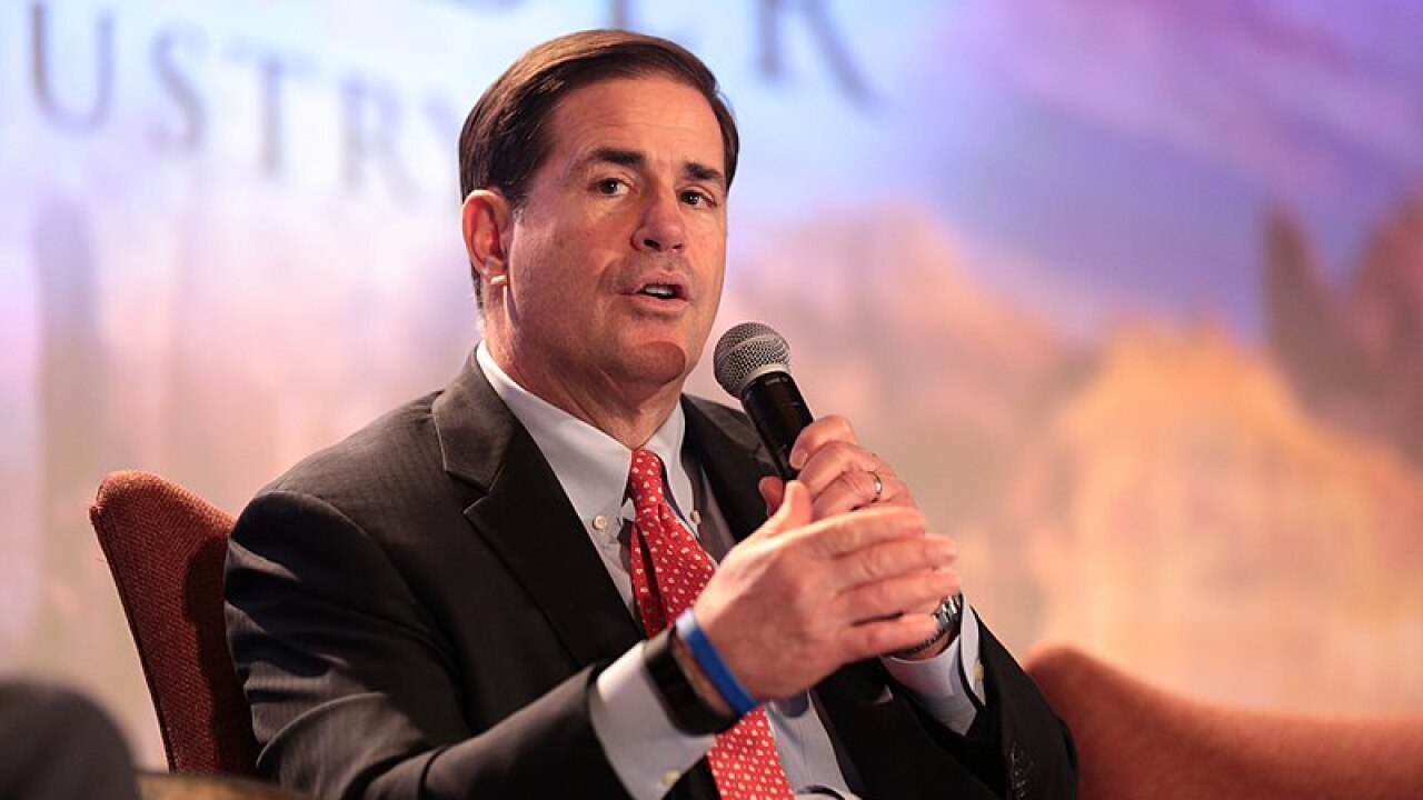 Governor Ducey to meet with President Trump in Washington D.C. this week