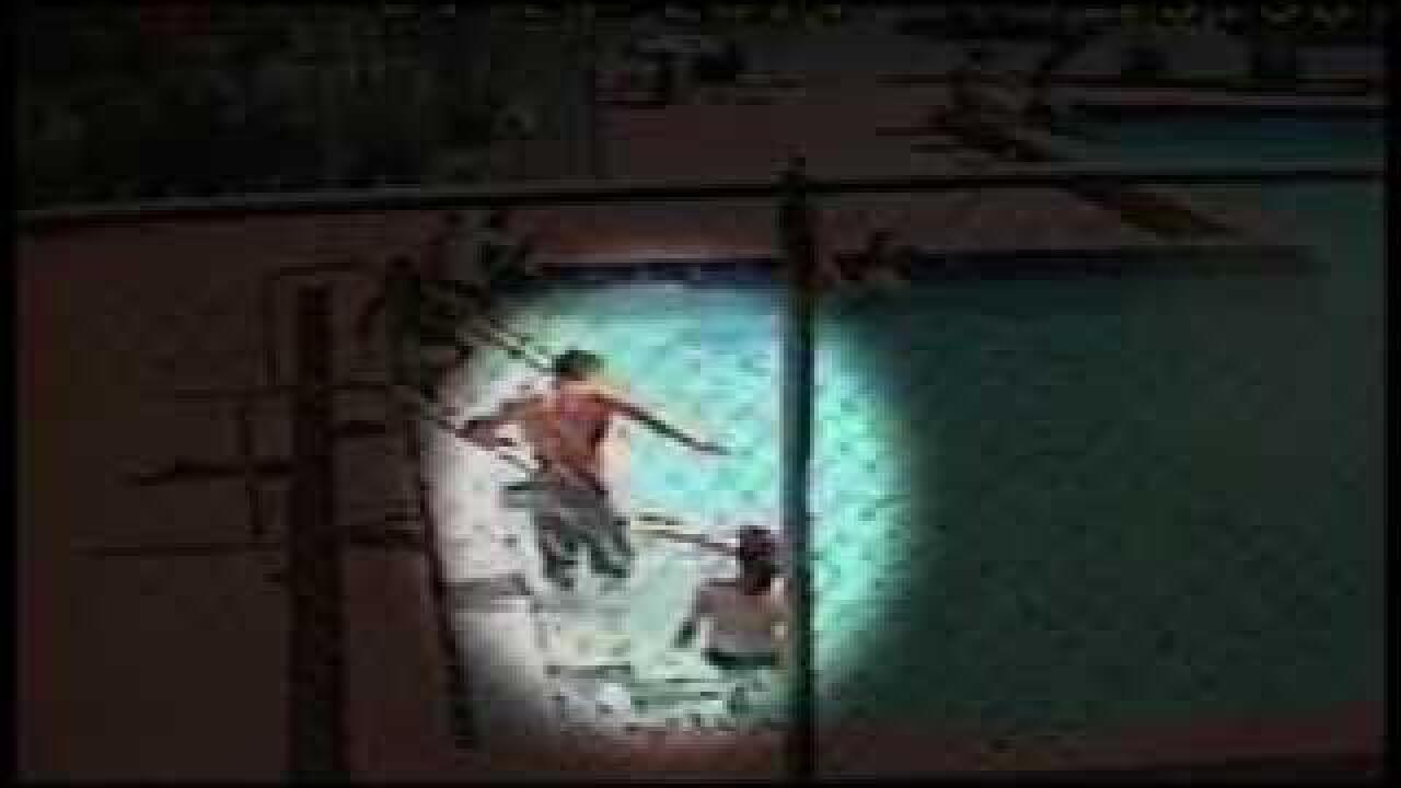 VIDEO: Parents rush to pull shocked kids out of swimming pool