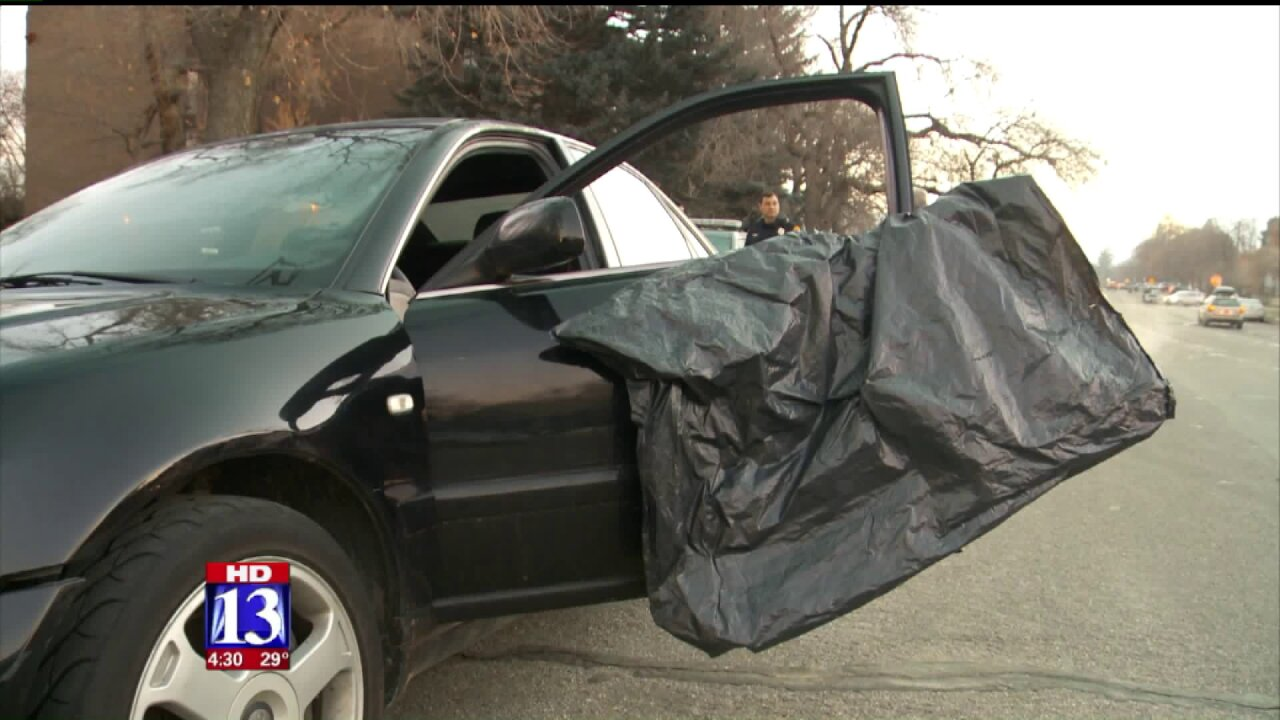 Suspect sought in pair of armed carjackings in Salt LakeCity