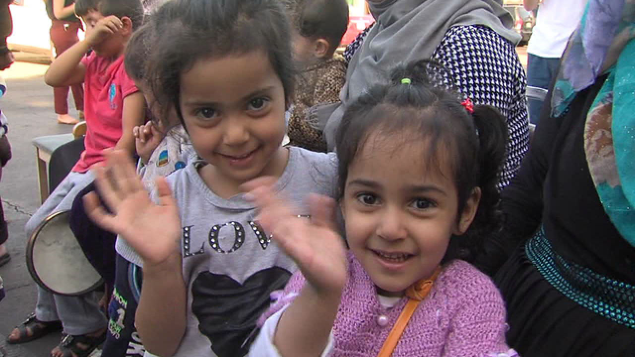 First Thanksgiving for Syrian refugees