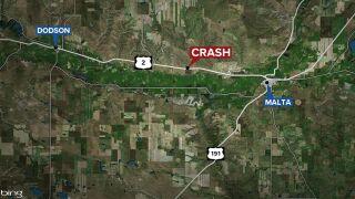 Teen dies in Phillips County crash