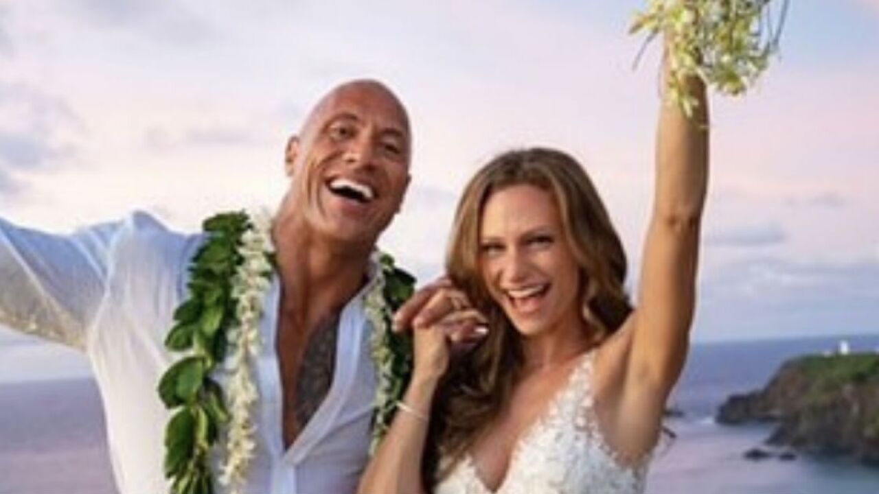 "Dwayne ""The Rock"" Johnson ties the knot in Hawaii"