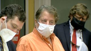 John Klosterman in court Thursday
