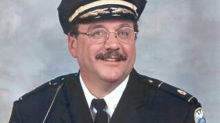 Former Akron police Chief Gus Hall
