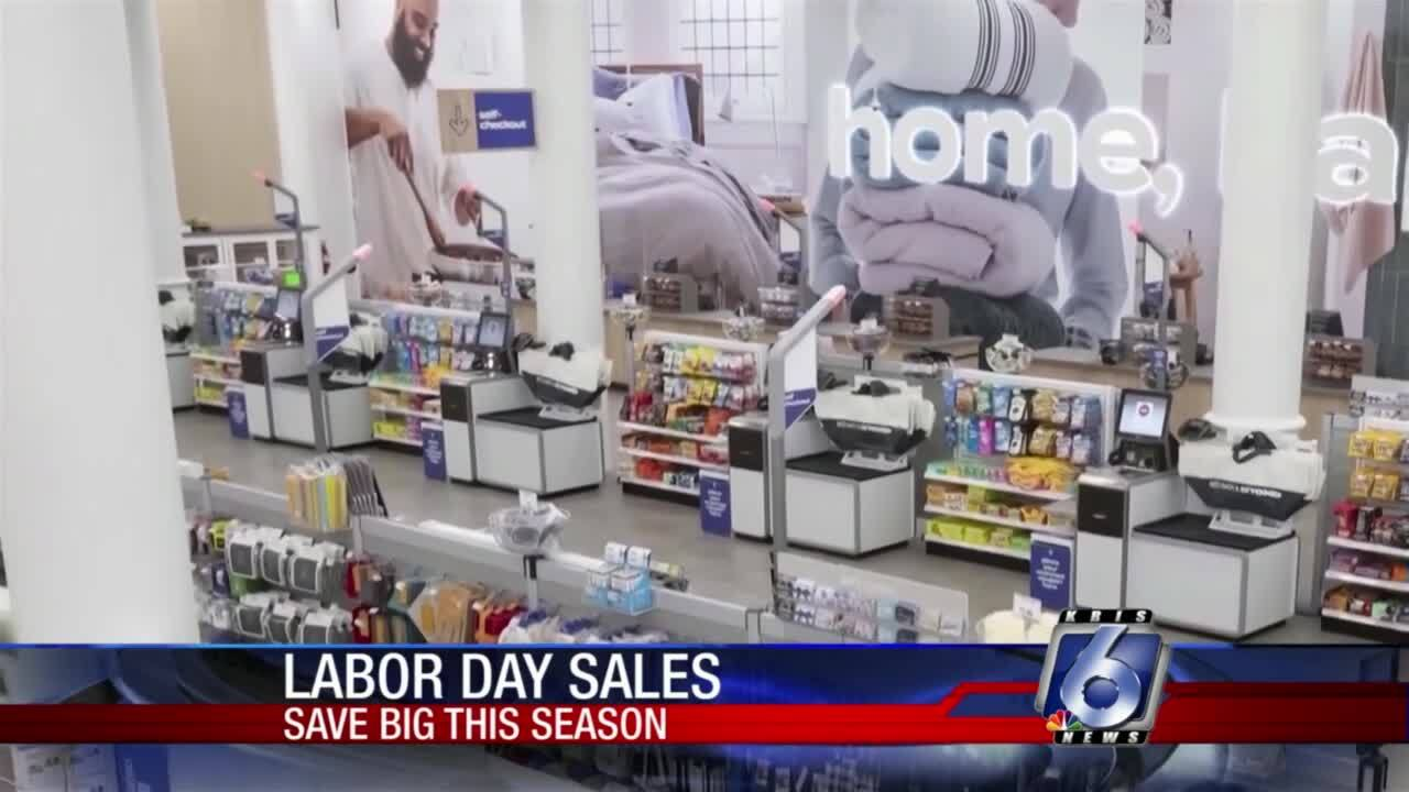 Big sales are coming to many retailers for Labor Day