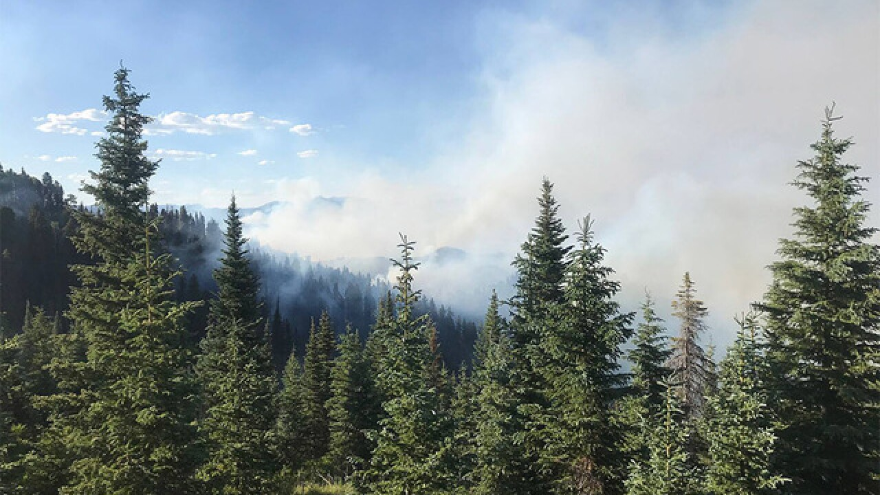 Divide Fire grows more than 6,000 acres overnight; mandatory evacs in Lake Christine to be lifted