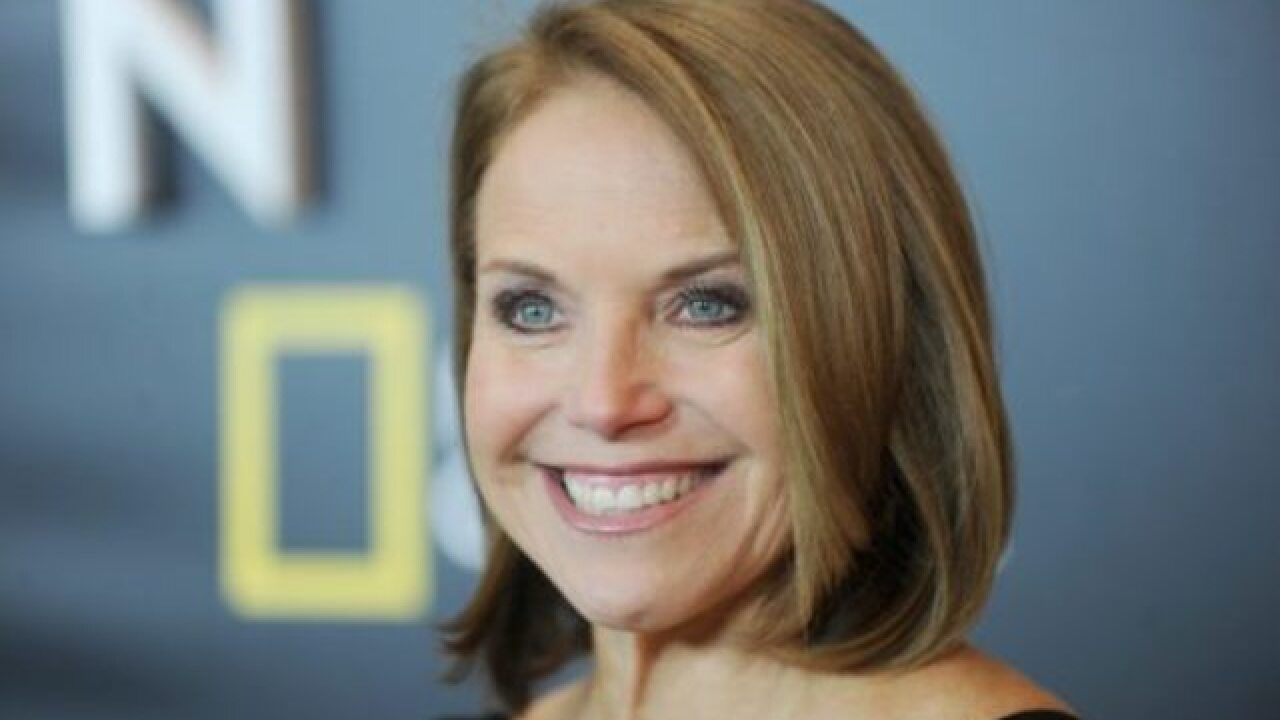 Katie Couric to cohost 2018 Winter Olympics opening ceremony