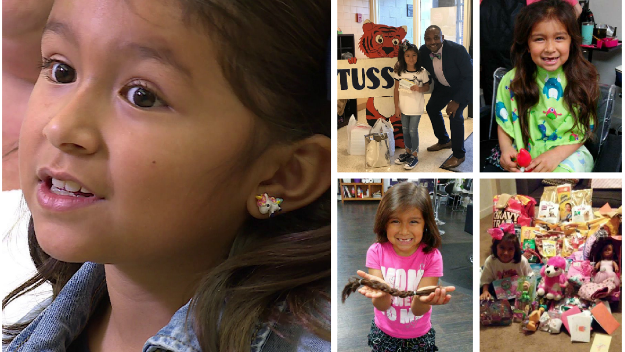How this little girl with a big heart is inspiring adults: 'I want them to behappy'