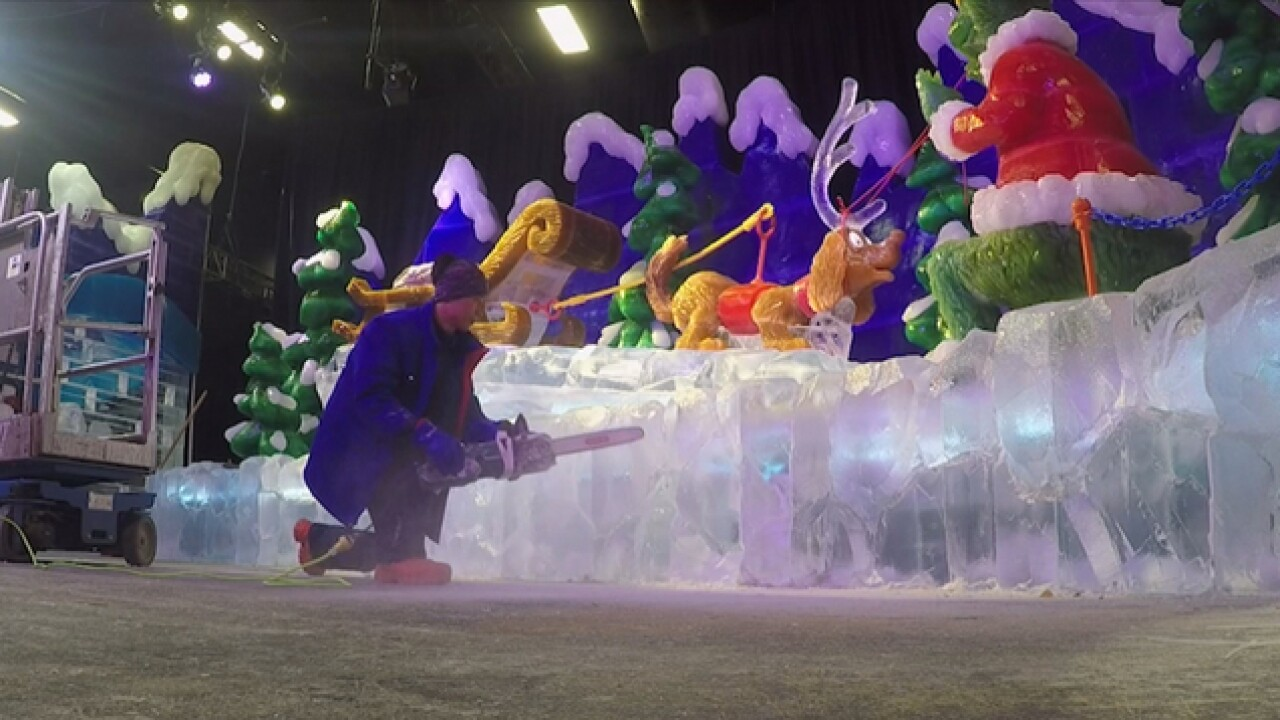 ICE! at Gaylord Opryland returns with 2M pounds of ice