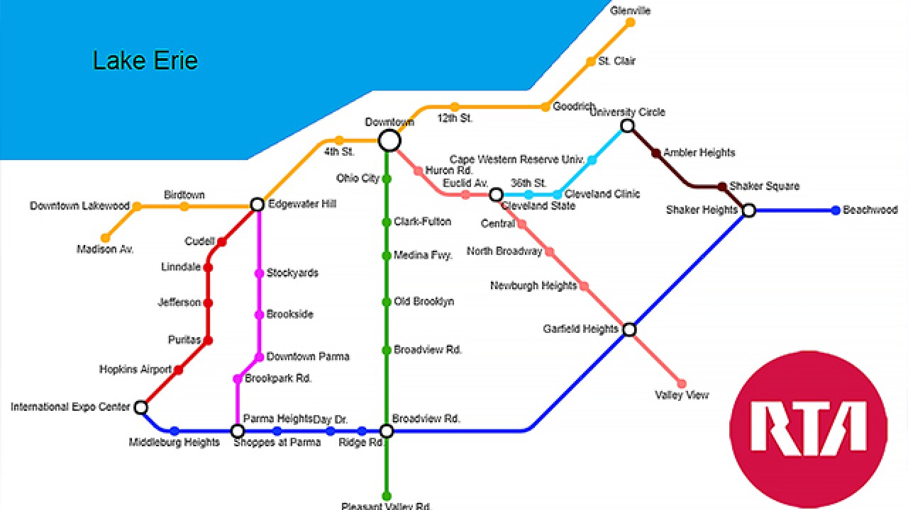 15 year old creates map of Cleveland if each Subway restaurant was