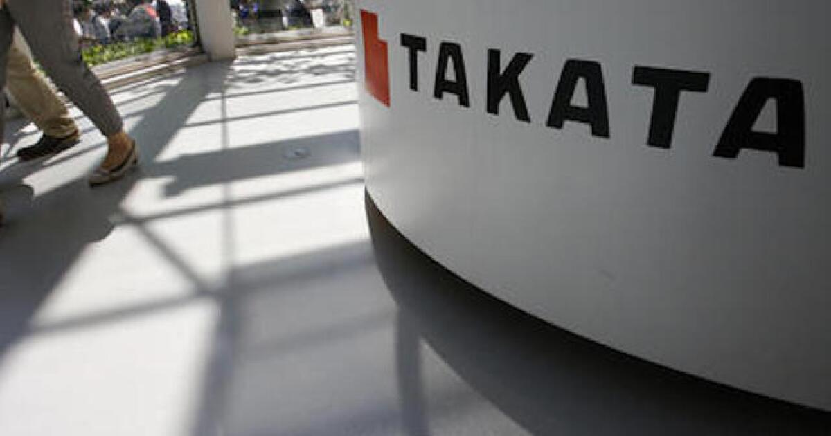Why GM won't recall thousands of Takata airbags