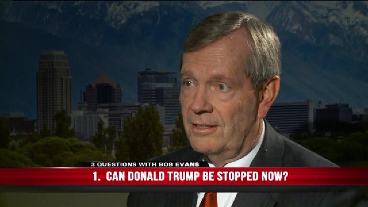 3 Questions with Bob Evans: Former Utah Gov. Mike Leavitt on Republican presidentialcandidates