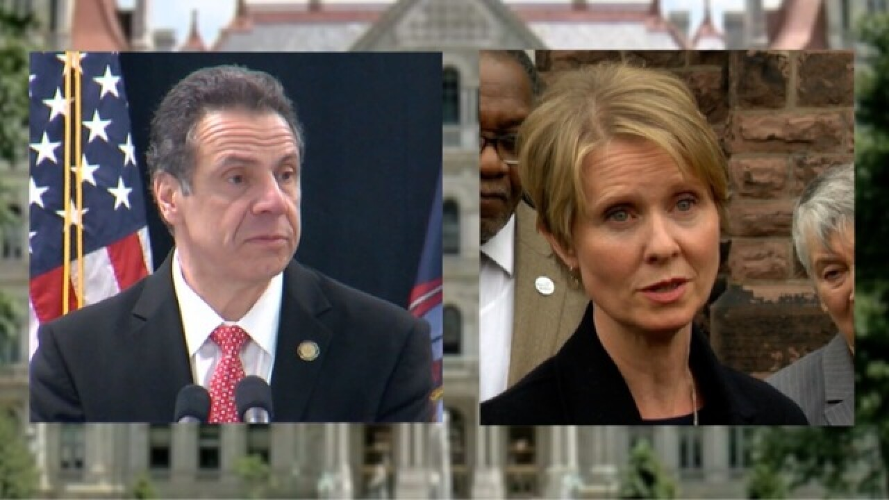 Nixon, Cuomo to face off in debate as NY primary draws near