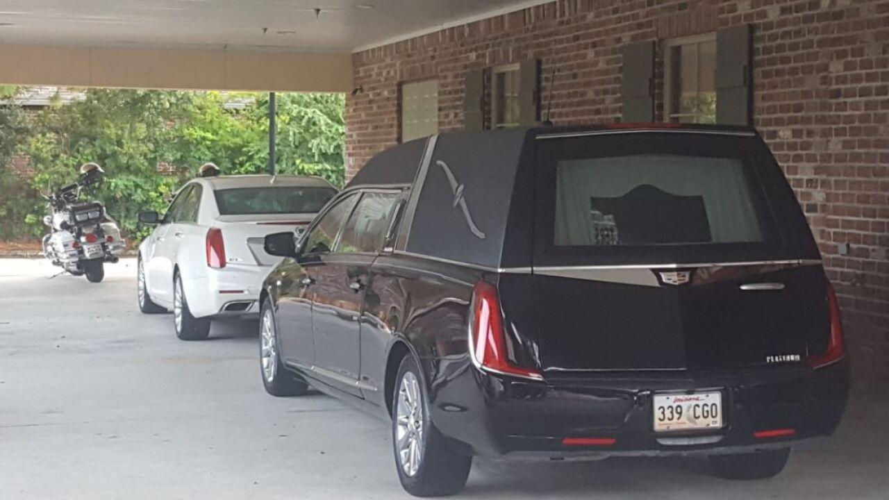 Blanco's hearse
