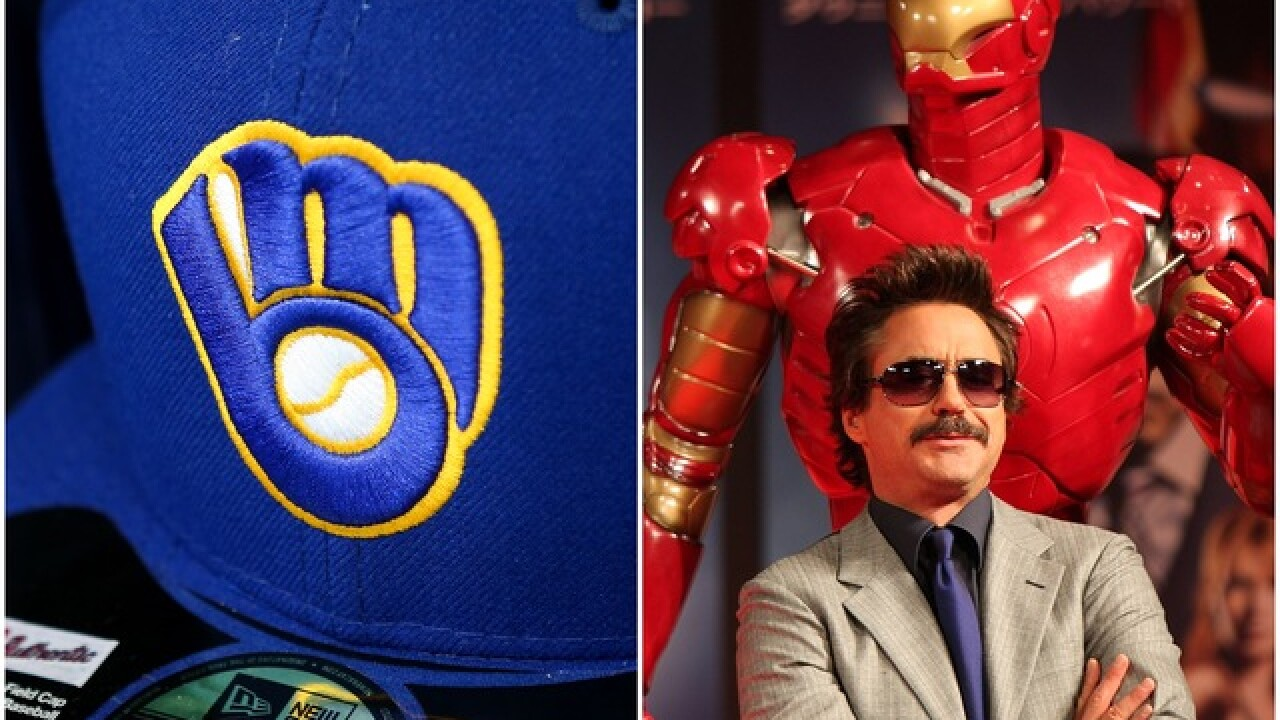 Milwaukee Brewers to give away 'Iron Man' bobblehead this weekend