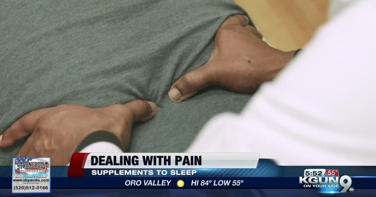 Alternative ways to manage pain