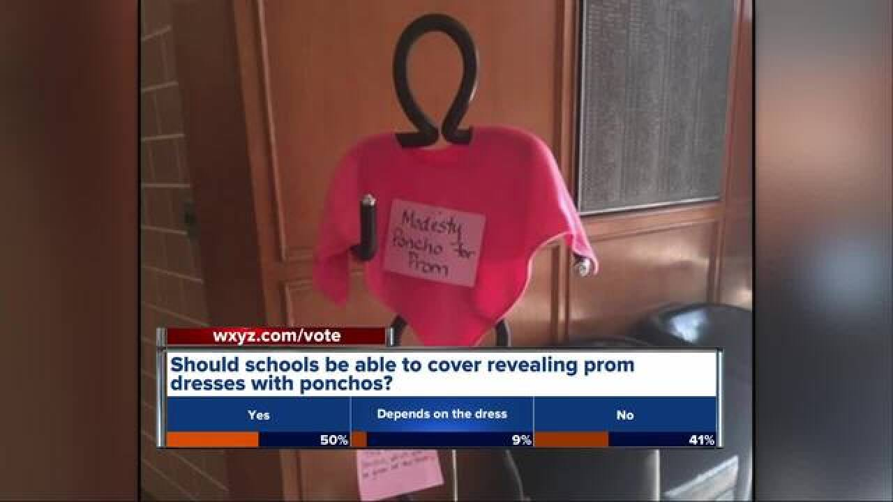 Dearborn HS offering 'Modesty Ponchos' for prom