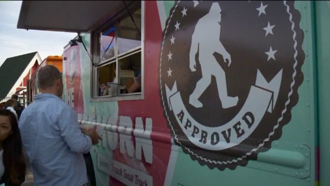 Food truck vendors congregate in Sugar House for new summer tradition