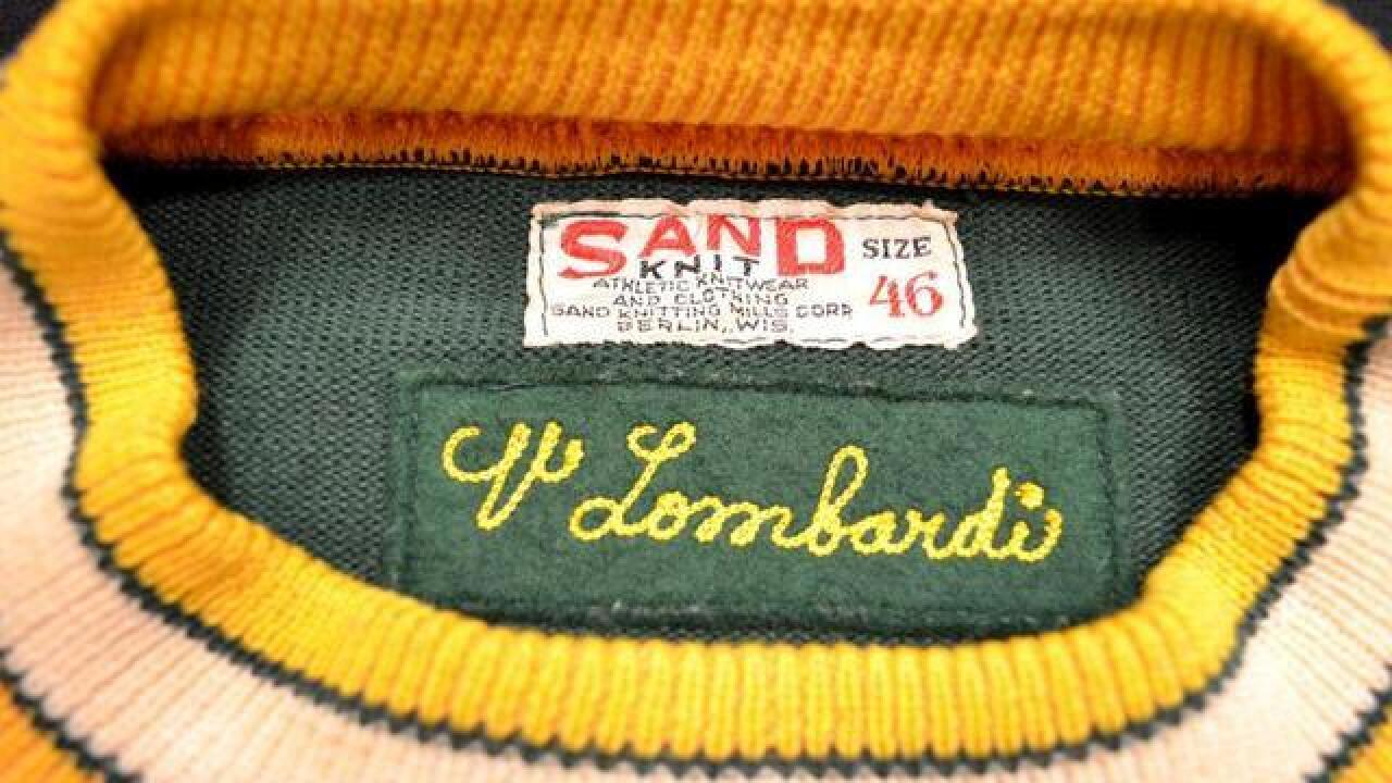 For sale: Lombardi sweater the most expensive...