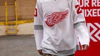 Red Wings reveal NHL Reverse Retro uniform design