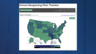 Johns Hopkins University creates school reopening plan tracker