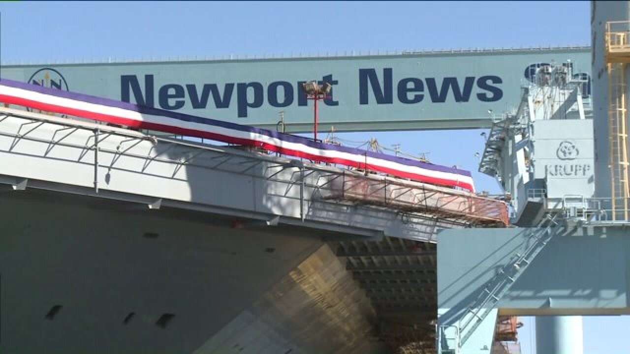 Last day for 738 workers at Newport News Shipbuilding