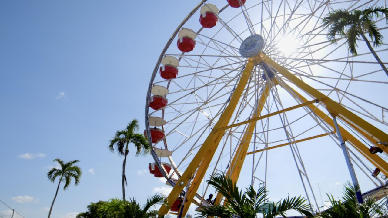 Ferris Wheel at South Florida Fair 2021