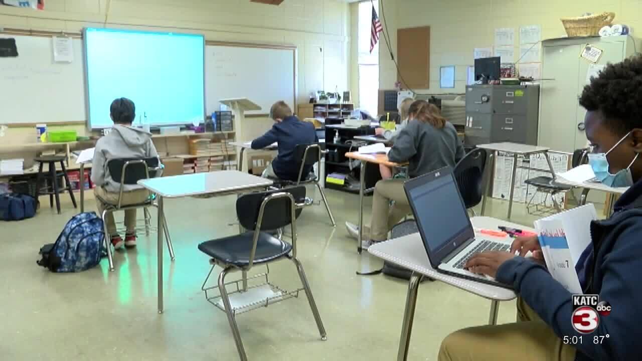 St. Landry classroom