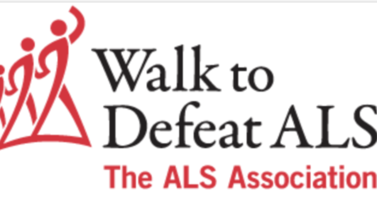 "The ""Walk to Defeat ALS"" is happening at Riverwalk Park Saturday"