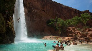 People Fight For Havasupai Falls Permits