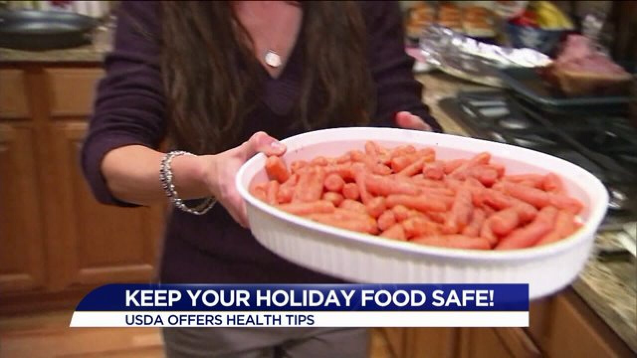 Keep your holiday food safe for family and friends