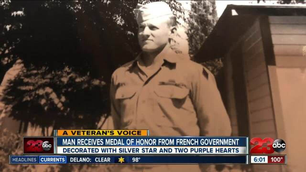 Local soldier receives french legion of honor