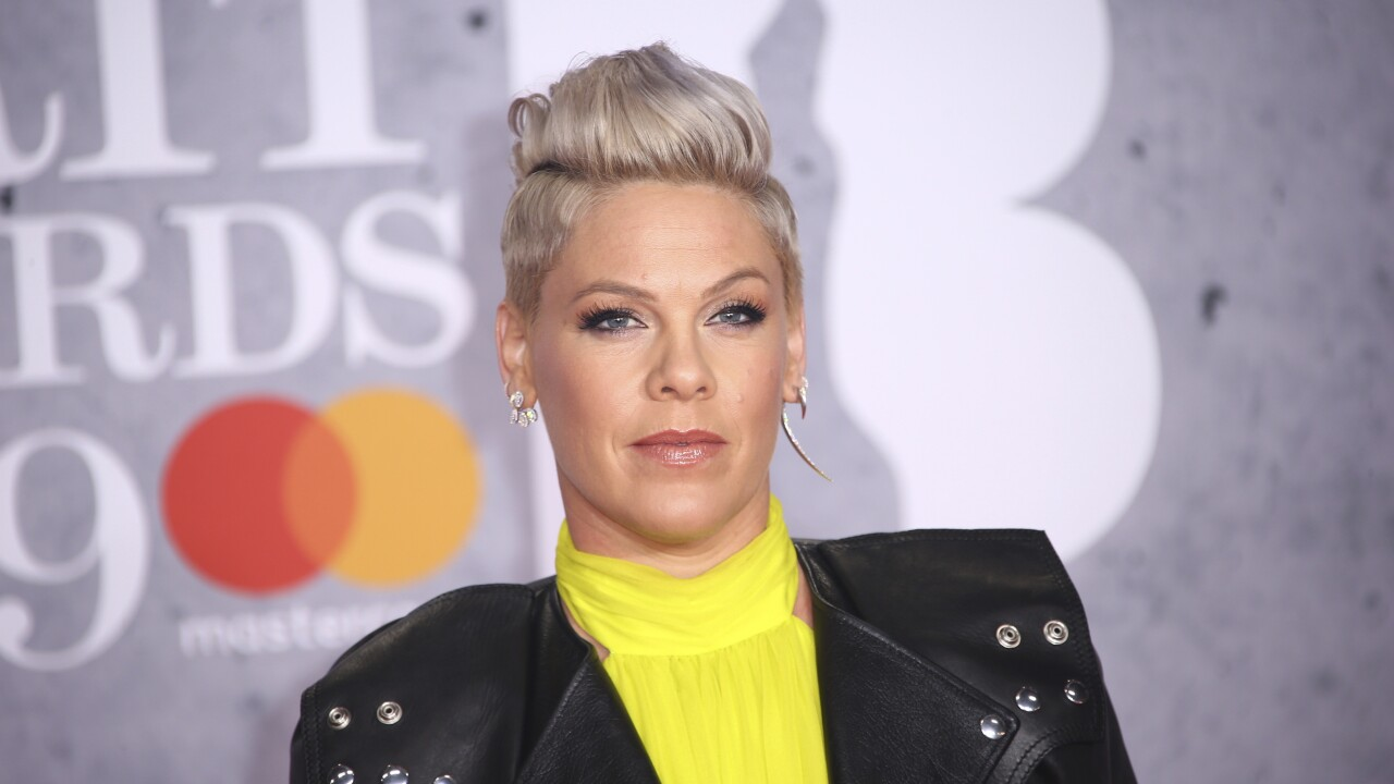 Singer P!nk revealed that she has tested positive for COVID-19, donates $1 million