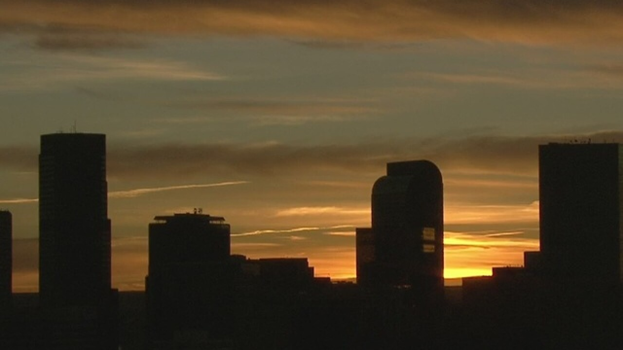NWS: Denver broke 14 record highs, zero record lows in 2017