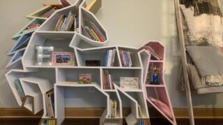 Unicorn Bookshelf Would Be An Adorable Addition To Any Kid's Bedroom