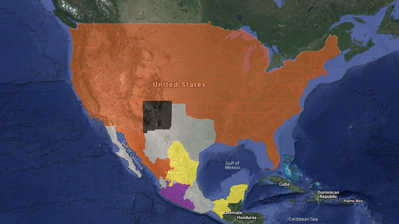MAP: Cartel influences, presence across the United States ...