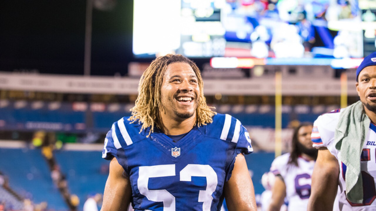 Indianapolis Colts linebacker killed by suspected drunk driver