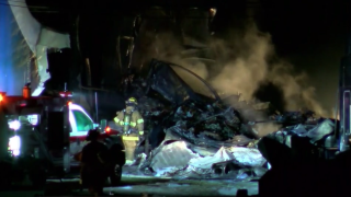Cargo plane crashes near Toledo Airport