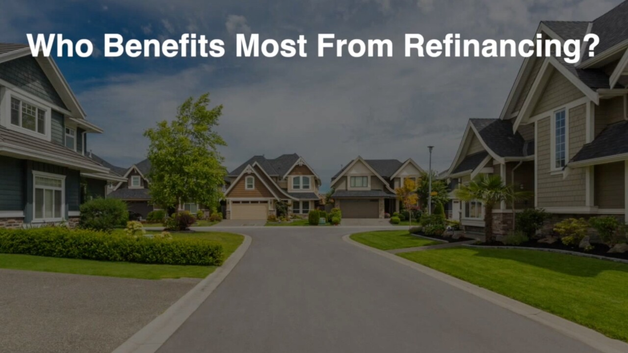 It may be a good time to refinance your home