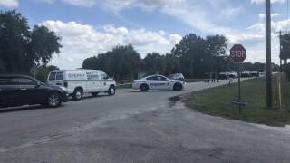 Okeechobee County deputy-involved shooting scene